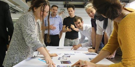 Climate Collage chairing workshop (La Fresque du Climat) by Frederic Giuli