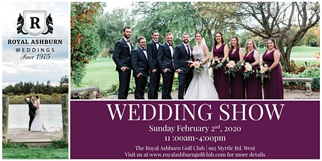 Royal Ashburn Wedding Show tickets