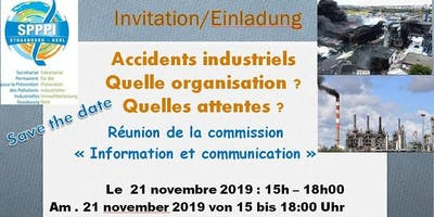 Accidents industriels : Quelle organisation ? Quelles attentes ?