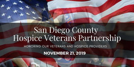San Diego County Hospice Veteran Partnership tickets