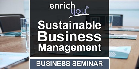 Sustainable Business Management Seminar tickets