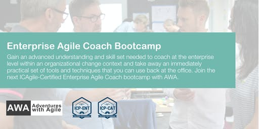 Enterprise Agile Coach Bootcamp (ICP-ENT & ICP-CAT) | Oslo - February