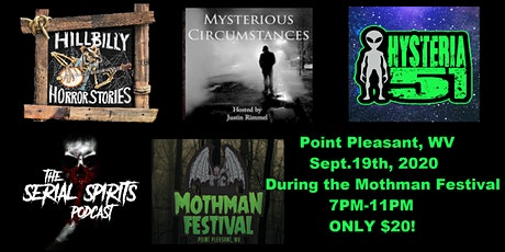 The Hillbilly Horror Stories & Friends Veterans Tour:Live in Point Pleasant tickets