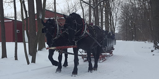 Sleigh Ride and Fireside Supper Fundraiser