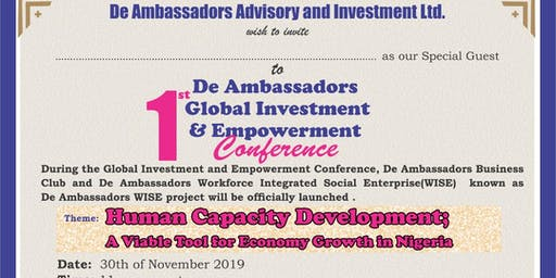 Ambassadors Global Investment & Empowerment Conference