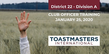 Club Officer Training, Division A tickets