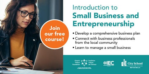Small Business and Entrepreneurship Information Session