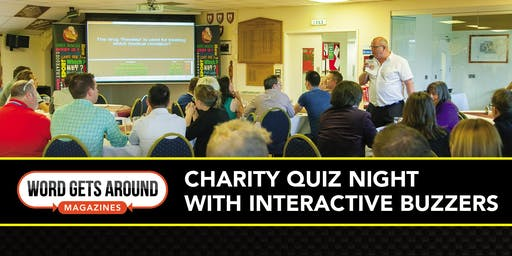 Word Gets Around: Charity Quiz Night for Headway Somerset