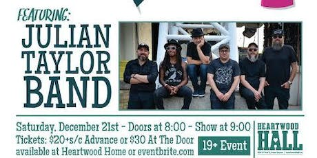 Heartwood's Holiday Party featuring Julian Taylor Band tickets