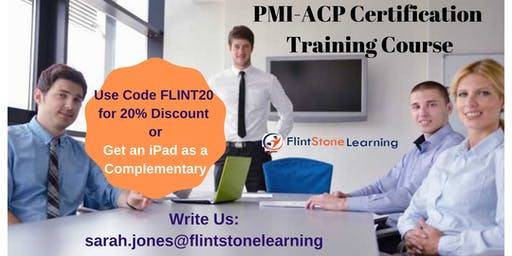 PMI-ACP Certification Training Course in Sioux Falls, SD