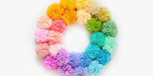 All Hung Up: DIY Yarn Wreaths - Dadeland