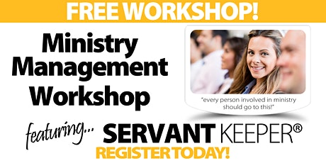 Washington DC - Ministry Management Workshop tickets