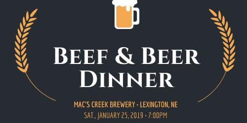Beef & Beer Dinner