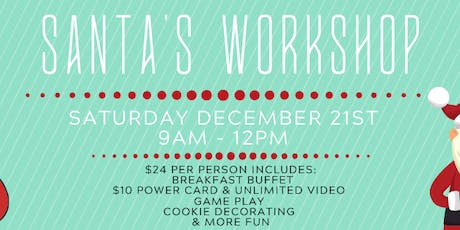 D&B Myrtle Beach Breakfast and Santa's Workshop! tickets