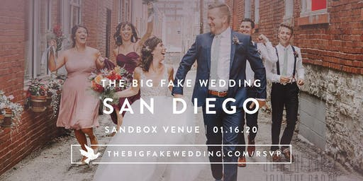 The Big Fake Wedding San Diego | Powered by Macy's