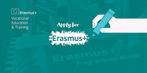 Erasmus+ KA102 VET Application Workshop, Dublin