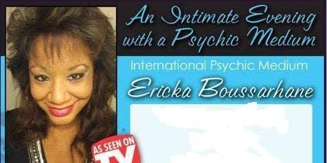 December A Night of Spirit with International TV Psychic Medium Ericka Boussarhane