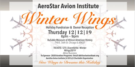 Winter Wings Cocktail Reception 2019 tickets