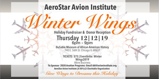 Winter Wings Cocktail Reception 2019