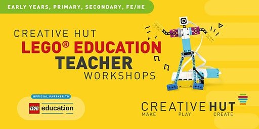 CreativeHUT - LEGO Education SPIKE PRIME  - STEAM Teacher Workshop