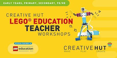 CreativeHUT - LEGO Education STEAM Teacher Workshop tickets