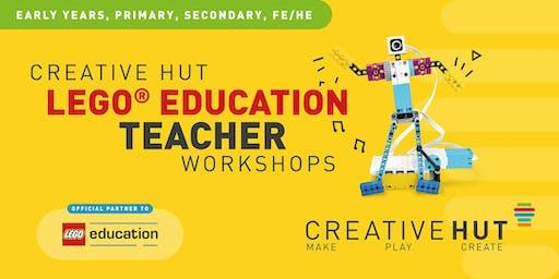 CreativeHUT - LEGO Education STEAM Teacher Workshop