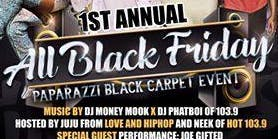 All Black Friday Paparazzi Black Carpet Event