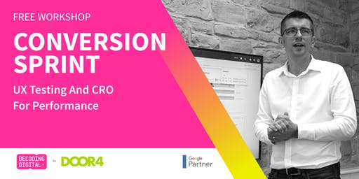Conversion Sprint: UX Testing And CRO For Performance