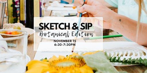 Sketch & Sip - Botanical Edition