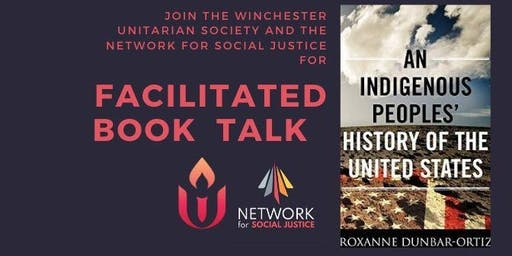 Facilitated book talk: An Indigenous Peoples' History of the US