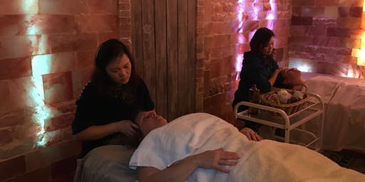 $40 off your frist Lymphatic drainage massage session in salt cave-regular rate $109.00
