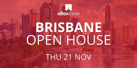 Alfex Laser Open House 2019 - Brisbane tickets
