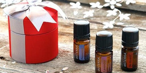 Festive Make & Take with Essential Oils