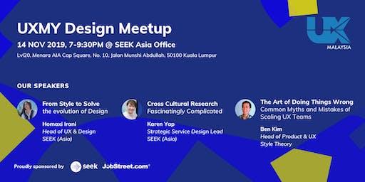 UXMY Design Meetup