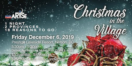 Haiti ARISE - Christmas in the Village - Nelson, BC tickets