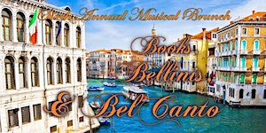 6th Annual Musical Brunch: Books, Bellinis, & Bel...