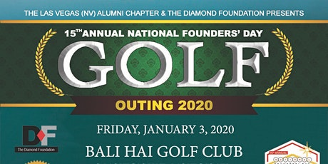 15th Annual National Founders' Day Golf Outing tickets