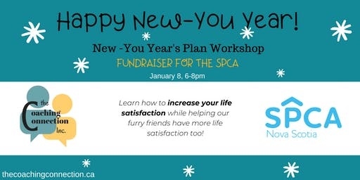 New-You Year's Plan Workshop -Fundraiser for the SPCA!