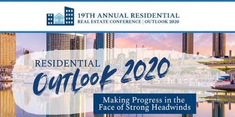 19th Annual Residential Real Estate Conference: Outlook 2020 tickets