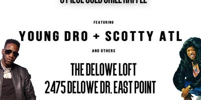 Young Dro and Scotty ATL performing live! Warren Truth Presents: ALL Gold Art Show starring Young Dro and Scotty ATL
