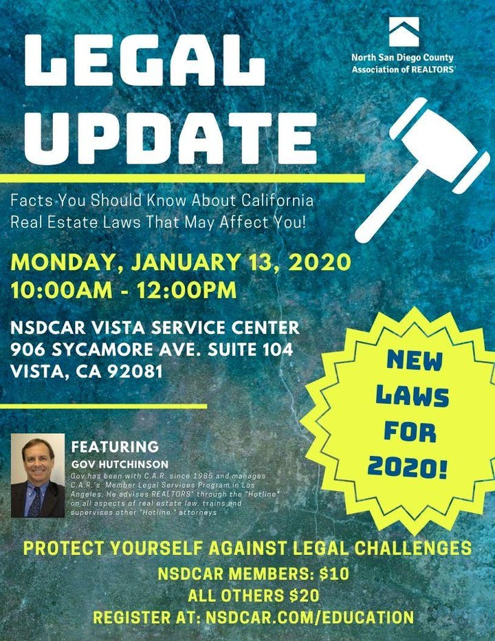 California New Laws 2020.Legal Update New Laws For 2020