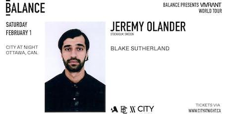 Jeremy Olander at City At Night tickets