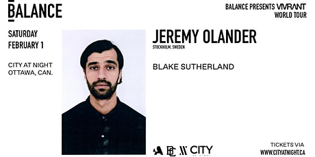Jeremy Olander at City At Night tickets