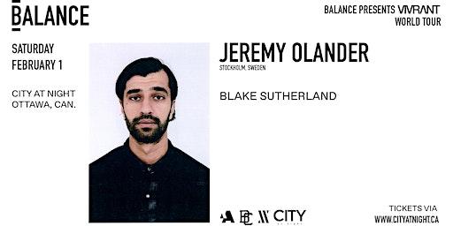 Jeremy Olander at City At Night