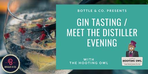 Gin Tasting: Hooting Owl