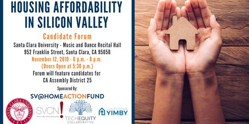 Housing Affordability in Silicon Valley: Candidate Forum Series #4