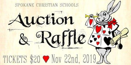 Spokane Christian Academy Annual Dinner, Auction, & Raffle tickets