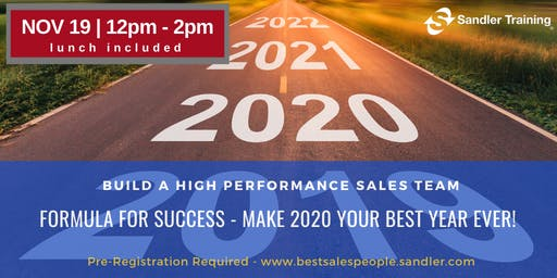Formula For Success - Make 2020 Your Best Year Ever