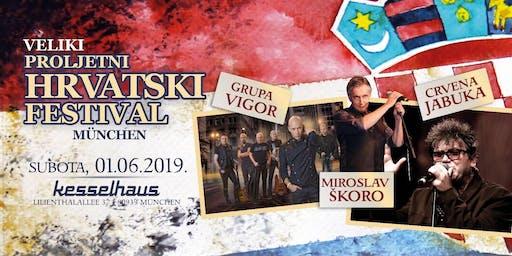 VELIKI PREDBOŽIĆNI HRVATSKI FESTIVAL 14. PROSINCA 2019. u Münchenu