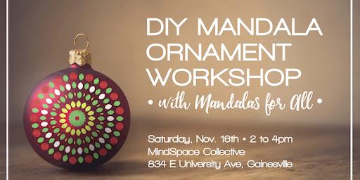 DIY Holiday Mandala Ornament